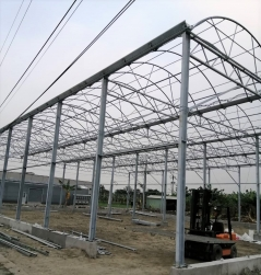 結構型鋼骨溫室(力霸式) Steady Linking Green-House (Truss)